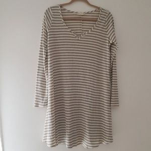 Altar'd State ribbed tunic dress